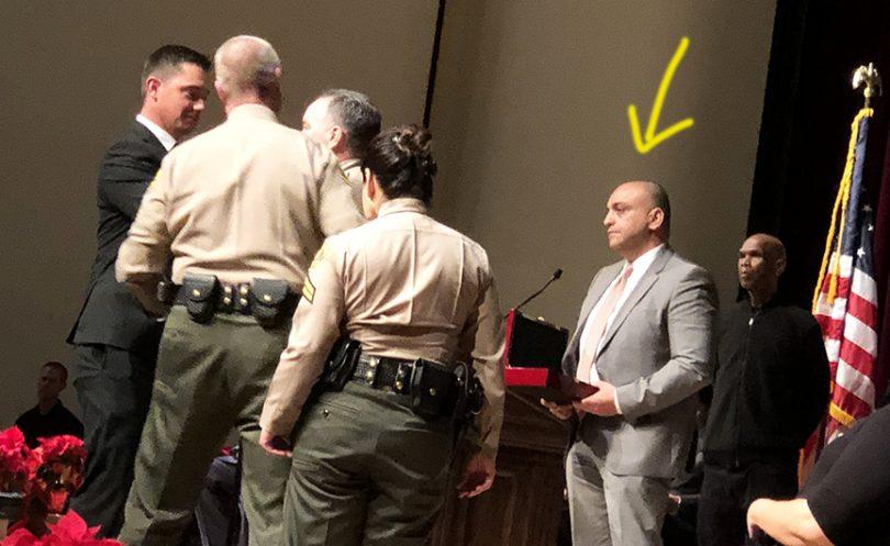 carl mandoyan  the deputy rehired by la county sheriff